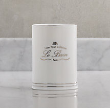 Le Bain French Porcelain Tumbler - White