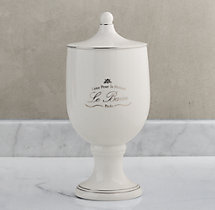 Le Bain French Porcelain Canister