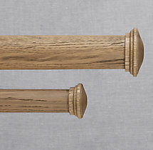 Estate Weathered Oak Endcap (Set of 2) - Weathered Oak