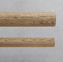 Estate Weathered Oak Rod - Weathered Oak