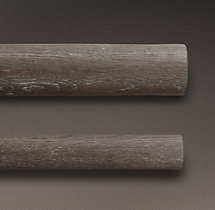 Estate Weathered Oak Rod - Burnt Oak