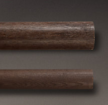 Estate Weathered Oak Rod - Brown Oak