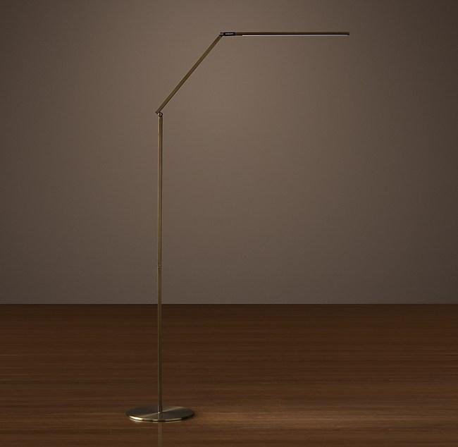Z-Bar Led Task Floor Lamp