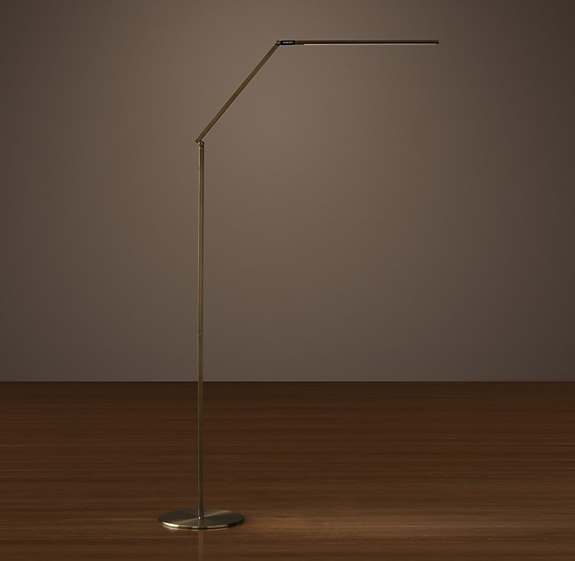 Z bar led task floor lamp aloadofball