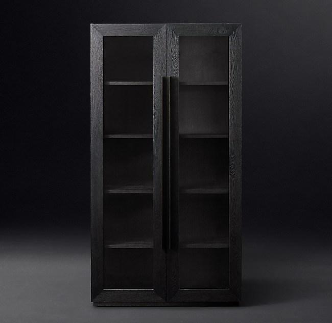 Machinto Glass Double Door Cabinet