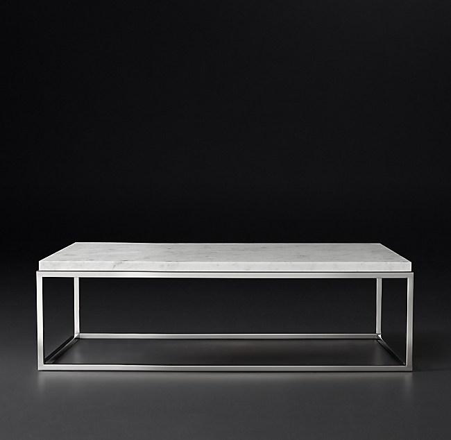 Nicholas Marble Rectangular Coffee Table
