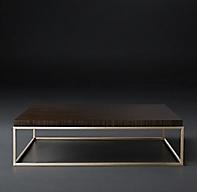 Nicholas Paldao Square Coffee Table