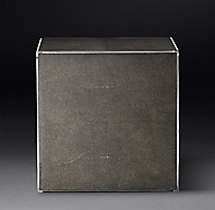 Saunderson Shagreen Cube Side Table