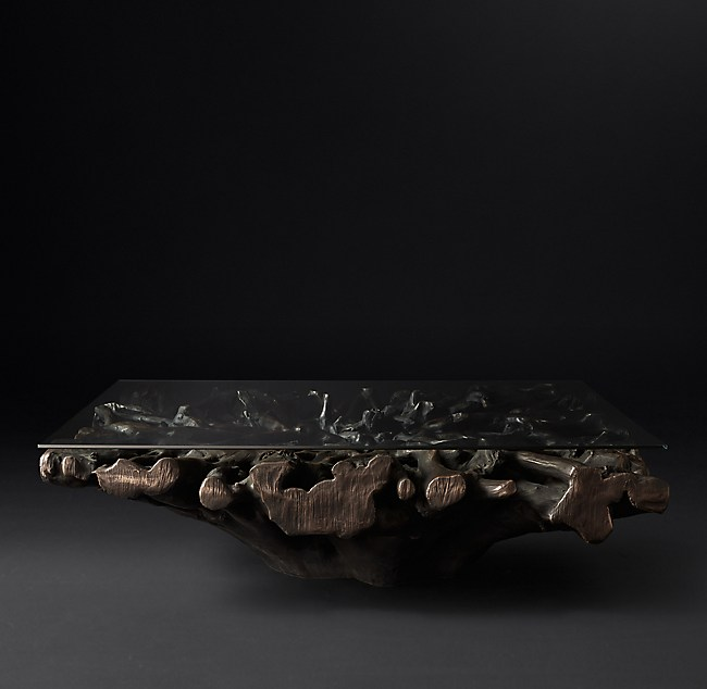 Cast Root Square Coffee Table