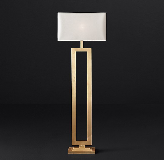 Iron Hairpin Kent Table Lamp Base: Clarke Floor Lamp