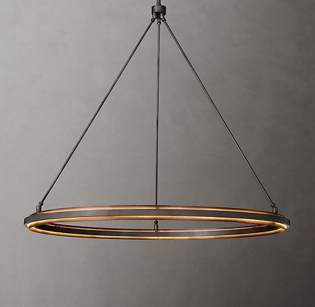 Peralta round chandelier 48 mozeypictures Gallery