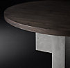 Concrete Pier Round Dining Table