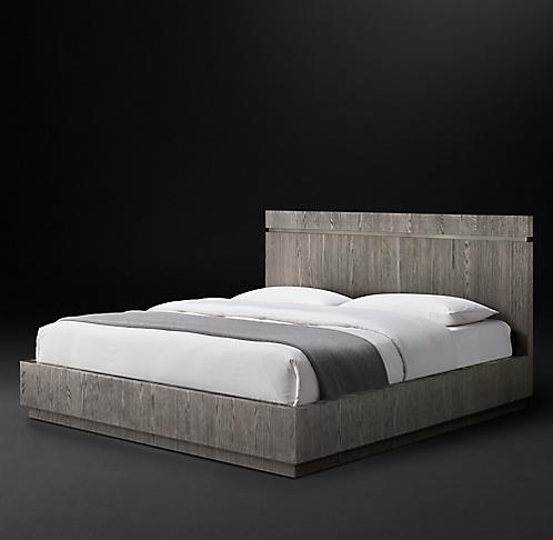 All Wood Beds | RH Modern