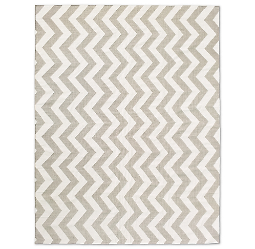 Distressed Chevron Flatweave Rug Collection Rh Modern
