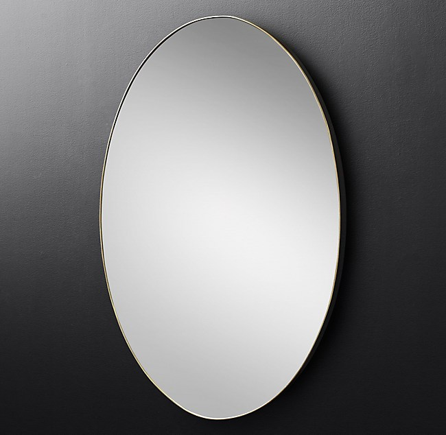 Lucent Oval Mirror