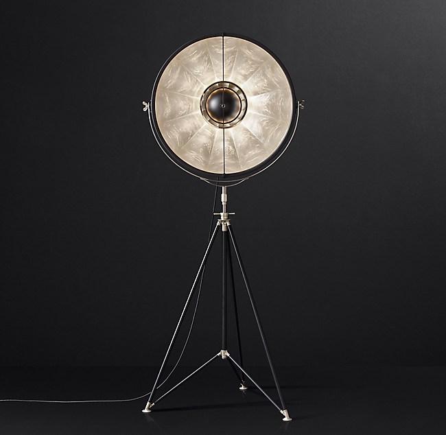 Fortuny Atelier 63 Floor Lamp White: Fortuny® Studio 76 Floor Lamp
