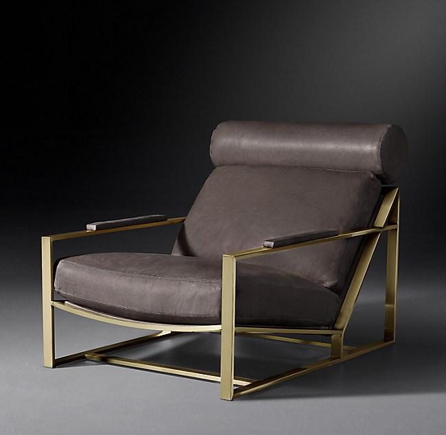 Milo Baughman Model 3418 Leather Chair 1965