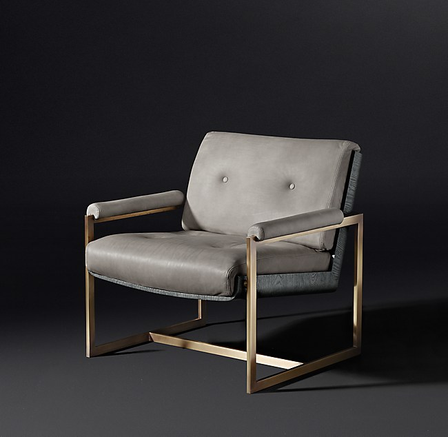 Rollins Chair: Rollins Leather Chair