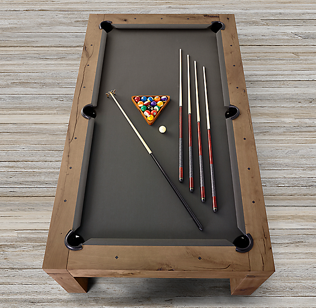 Restoration Hardware Pool Table Used Table Designs - Restoration hardware pool table
