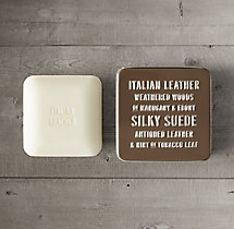 Travel Soap - Italian Leather