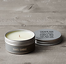 French Oak Travel Candle