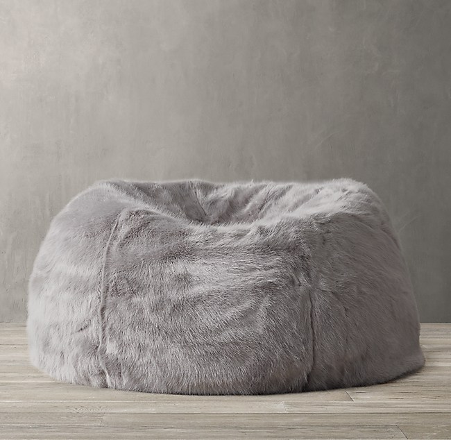 Excellent Ultra Faux Fur Bean Bag Pdpeps Interior Chair Design Pdpepsorg