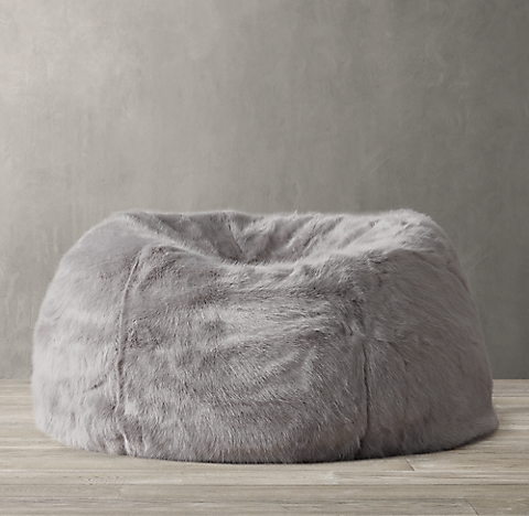 Ultra Faux Fur Bean Bag Collection