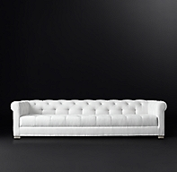 Modena Chesterfield Sofa With Tufted Seat