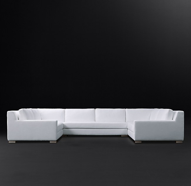 Swell Modena Track Arm U Sofa Sectional With Bench Seat Gmtry Best Dining Table And Chair Ideas Images Gmtryco