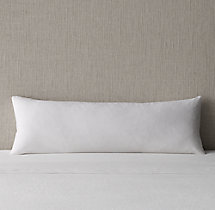 Italian Vintage-Washed 464 Percale Long Lumbar Sham