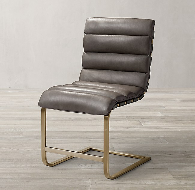 Prime Oviedo Leather Side Chair Creativecarmelina Interior Chair Design Creativecarmelinacom