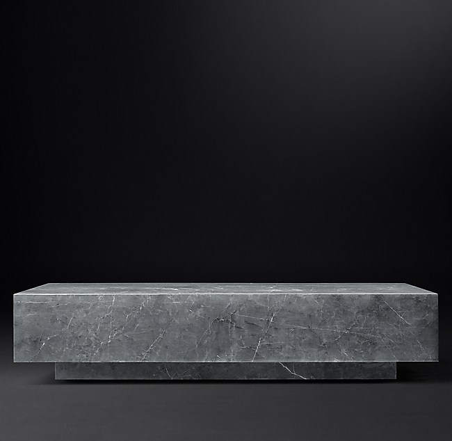 All Marble Tables RH Modern - Rh modern coffee table