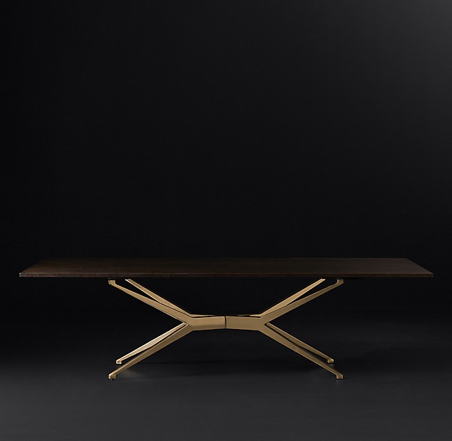 Maslow Spider Rectangular Dining Table by Restoration Hardware