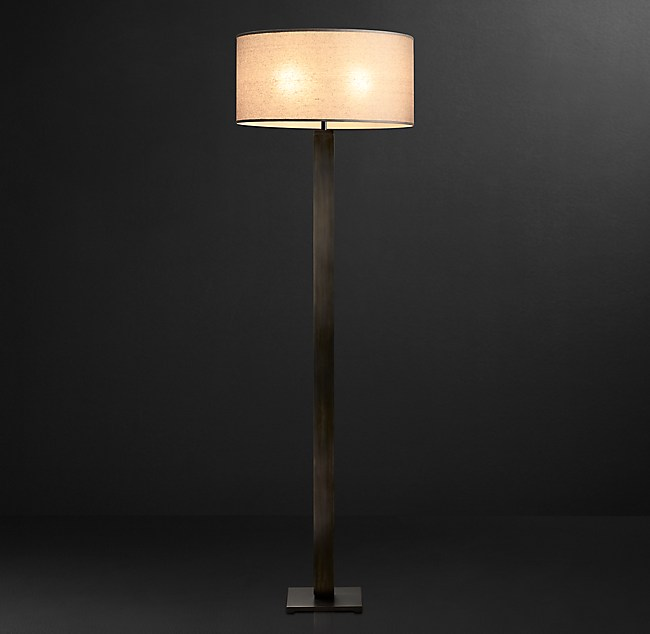 Column floor lamp square column floor lamp aloadofball Image collections