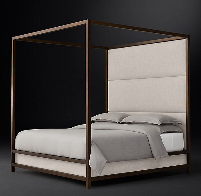 Montrose High Panel Canopy Bed