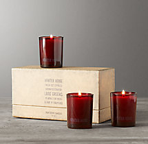 Mini Candles - Holiday Home (set of 3)