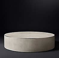 Saunderson Shagreen Cylinder Coffee Table