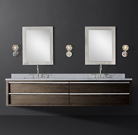 Bezier Floating Vanity Bath Collection Rh