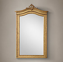 "Carved Acanthus Mirror - 43½"" X 67¼"""