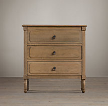 "Louis XVI 30"" Closed Nightstand"