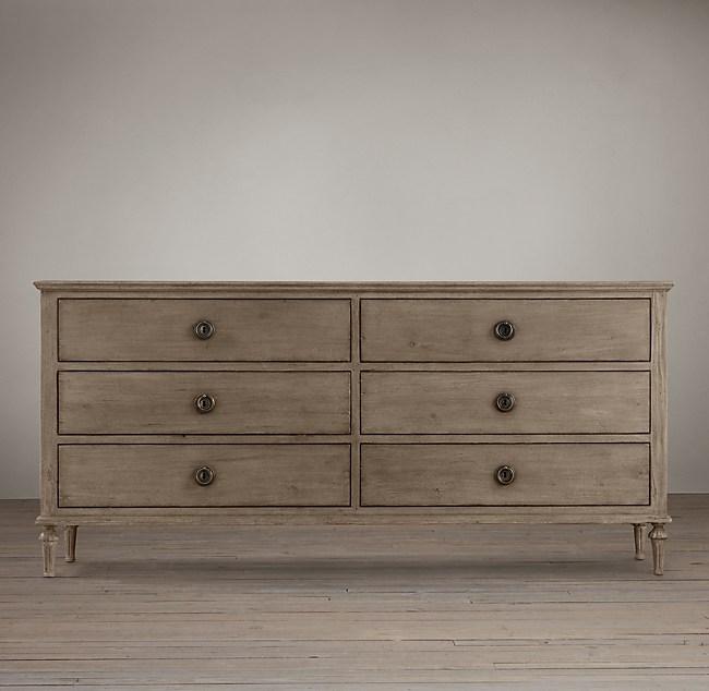 Maison 6 Drawer Dresser