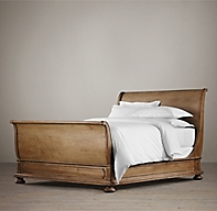 St James Sleigh Bed With Footboard