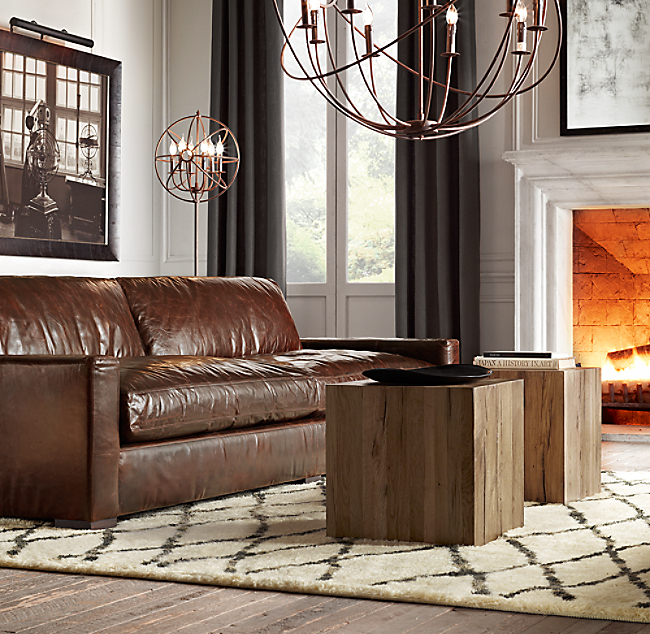 8 Maxwell Leather Sofa Color Preview Unavailable Previous