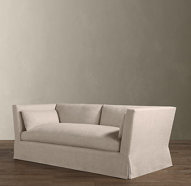 how to clean beige linen couch