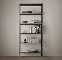 Vintage Industrial Single Shelving