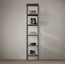 Vintage Industrial Narrow Single Shelving