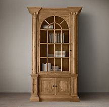 Palladian Single-Door Cabinet