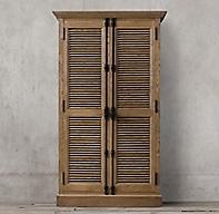 Shutter Double Door Cabinet