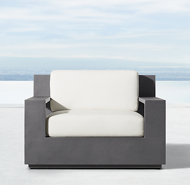 Marbella Aluminum Lounge Chair
