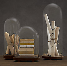1920s French Glass Cloche Collection